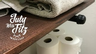 JWF-SIMPLE BATHROOM SHELVES