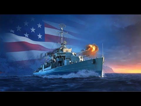 USN Destroyer Tech Tree | World Of Warships Legends