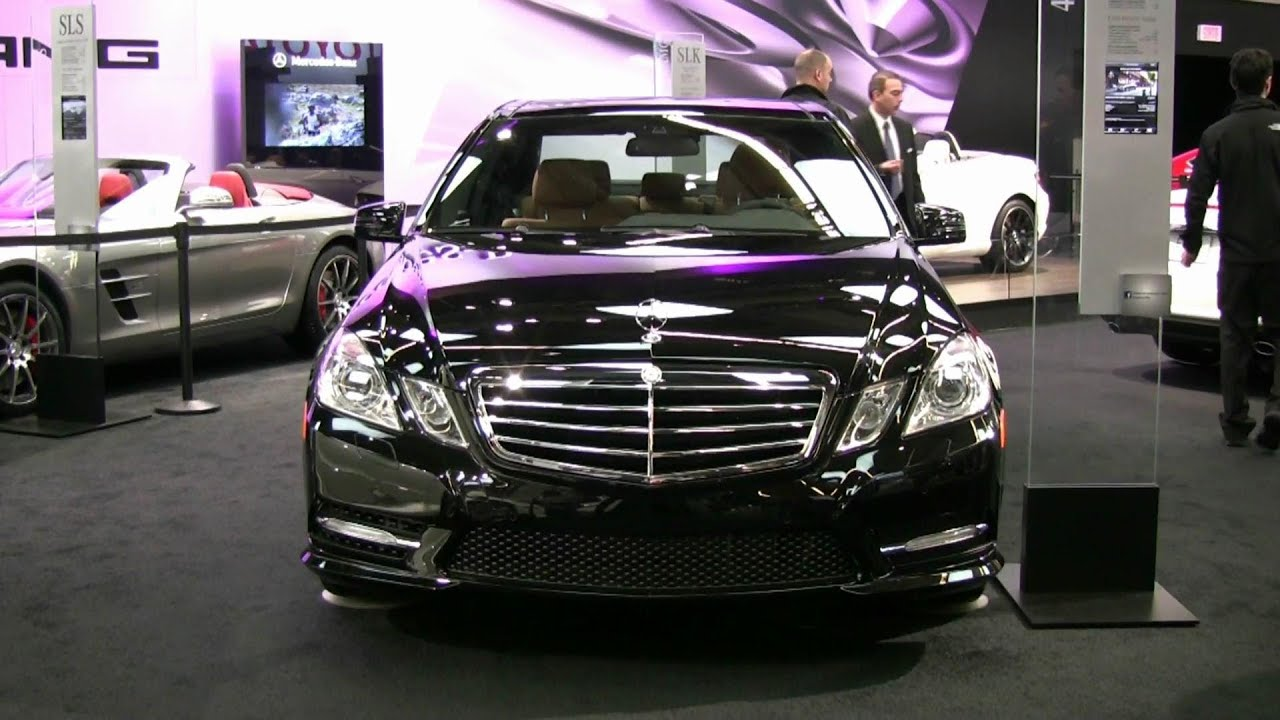 medium resolution of 2012 mercedes benz e350 4matic exterior and interior at 2012 montreal auto show