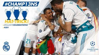 REAL MADRID PARTY & CELEBRATION at the Santiago Bernabéu | Champions League Winners 2018