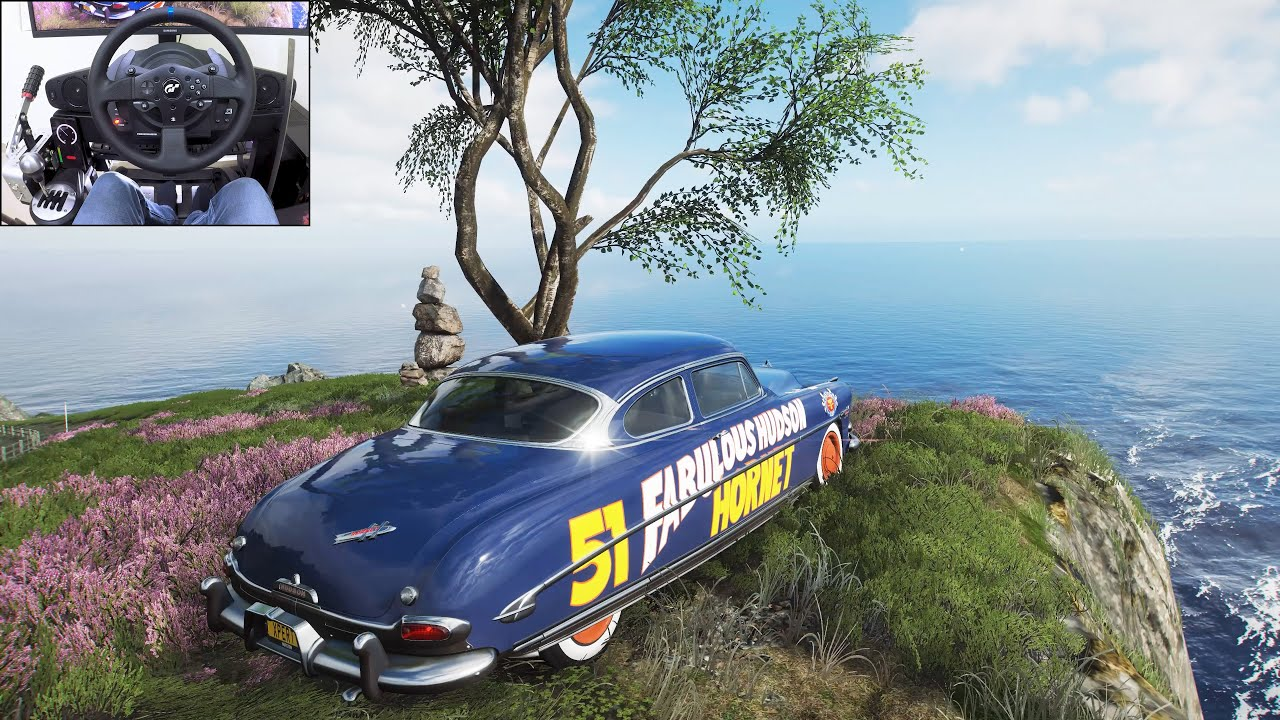 Doc Hudson (Cars Movie) - Forza Horizon 4   Thrustmaster T300RS