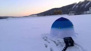 Зимова риболовля Павлівське водосховище, 02 01 15 г
