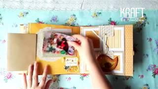 Scrapbook Photo Album + Shaker - Album foto handmade