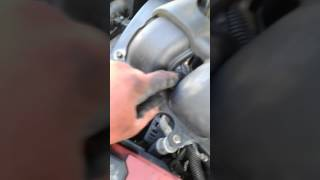 How yo remove intake from a trailblazer 2004