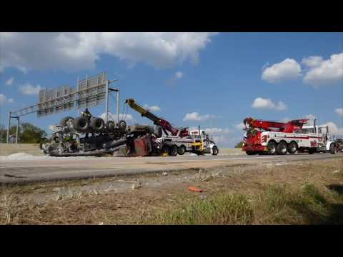 Heavy Rollover Recovery & HAZMAT Cleanup Nashville | West Nashville Wrecker Service