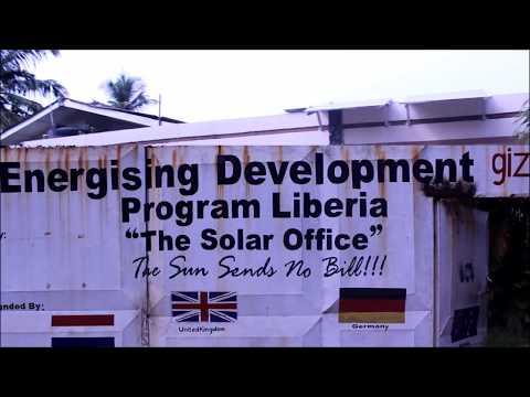 GIZ Liberia solar offices
