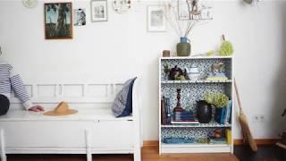 ИКЕА Идея - преобрази библиотека BILLY с текстилно решение