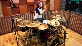Momon Wahyudha (Burgerkill-Only the Strong) Drum Cover
