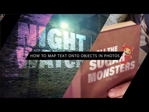 How to Map Text onto Objects in Photos Using Photoshop – #PHOMO