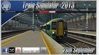 Tutorial De Como Baixar, Instalar E Jogar Rail ( Train ) Simulator 2013 PC