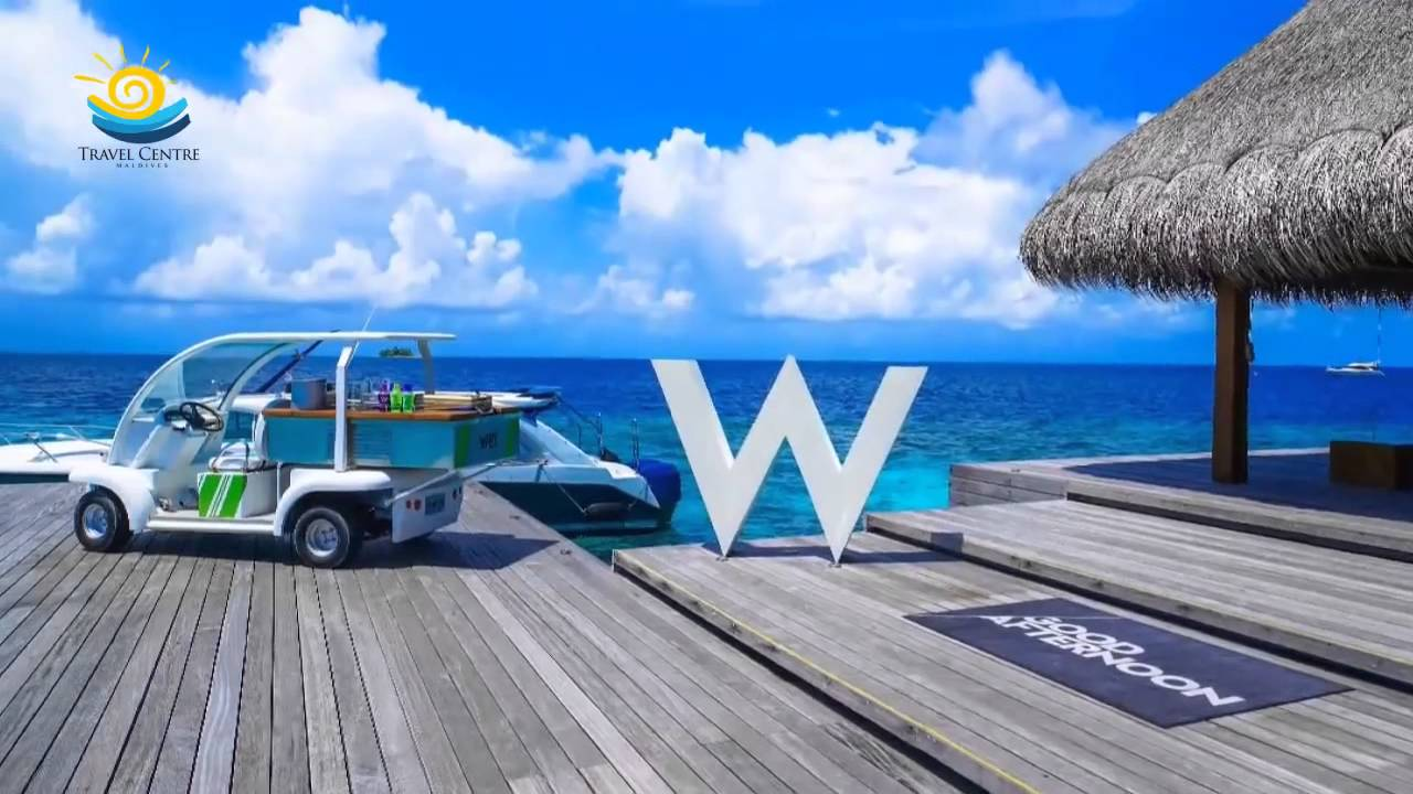 W Retreat Spa Maldives Private Holiday Island Of Maldives Youtube