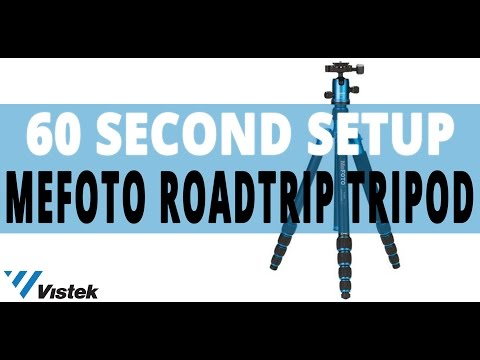 How to set-up a MeFoto Roadtrip Tripod in 3 useful ways | 60 Second Set-up