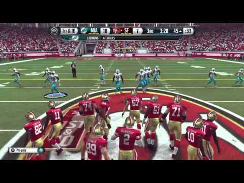 Madden 16 SUPER BOWL Classic: San Francisco 49ers vs Miami Dolphins at SUPER BOWL XIX