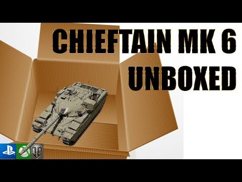 The Tier X Chieftain (The Chief)- World of Tanks Console