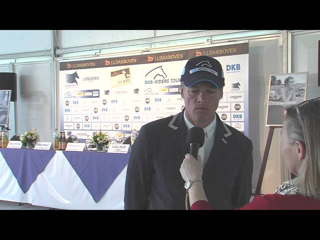 Hilmar Meyer  - Interview mit dem Sieger der 1. Qualifikation
