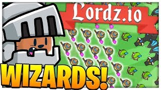 MAX POPULATION 1000 KNIGHTS!? GLITCH LOBBY - LORDZ.IO