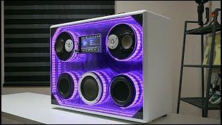 speaker system diy  mp5(blueto…