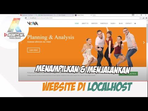 Cara Memanggil Php Localhost