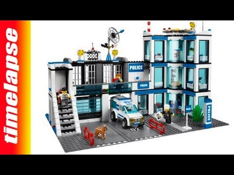 lego city stazione di polizia cosa c 39 nella scatola timelapse video by fortura giocattoli. Black Bedroom Furniture Sets. Home Design Ideas