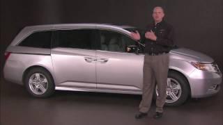 2011 Honda Odyssey revealed