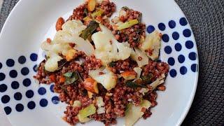 구운 채소와 통곡물로 만드는 따뜻한 샐러드 메뉴! 글루…