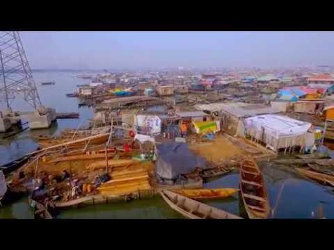 Lagos Lagoon, Makoko, & Eko Atlantic - Nigeria - DJI Phantom 3