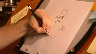 Phineas and Ferb - Learn How To Draw Agent P - Disney Channel Official