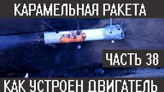 Карамельная ракета.  Принцип работы ракетного двигателя на карамельном топливе (ТТРД).