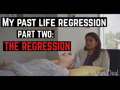 My Past Life Regression..   Part TWO : THE ACTUAL REGRESSION...
