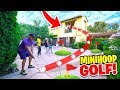 INSANE 2HYPE Mansion Mini-Golf TRICKSHOT BASKETBALL