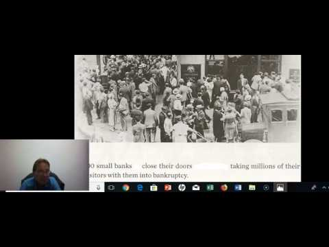 2 HI 102 Part two Further Causes of the Great Depression of 1930s America