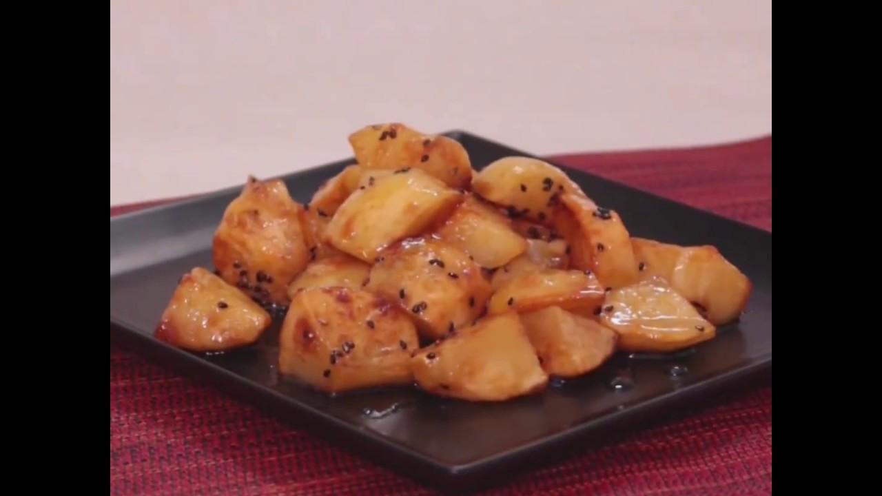 以馬鈴薯超越地瓜♡拔絲地瓜甜點 │C CHANNEL 料理 - YouTube