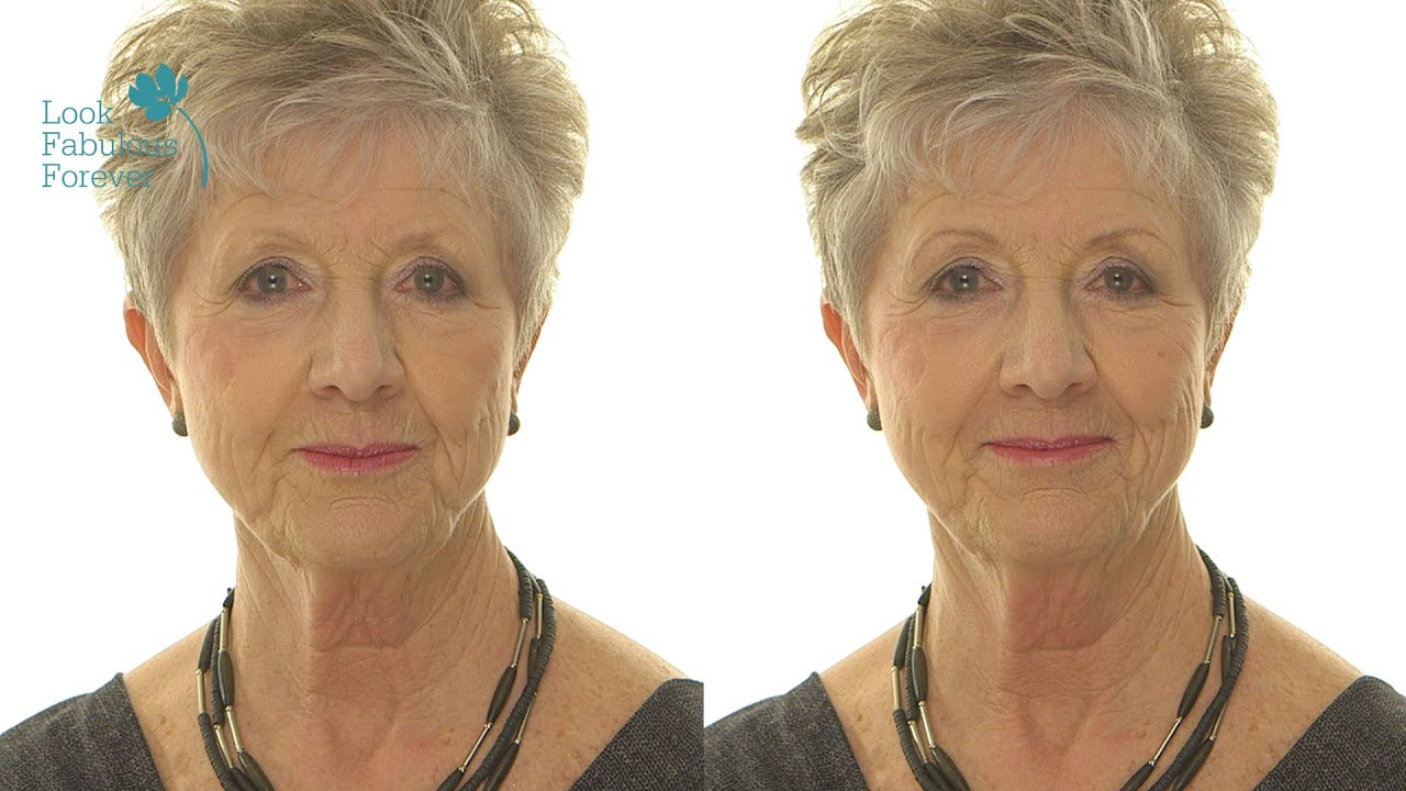 Makeup For Older Women Define Your Brows Youtube