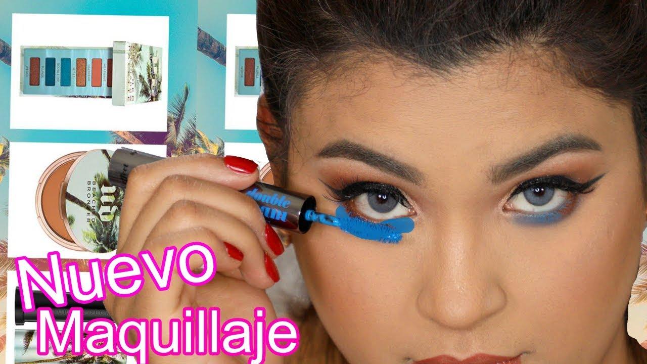 Productos de Maquillaje nuevo - Tutorial de maquillaje con pestañas azul