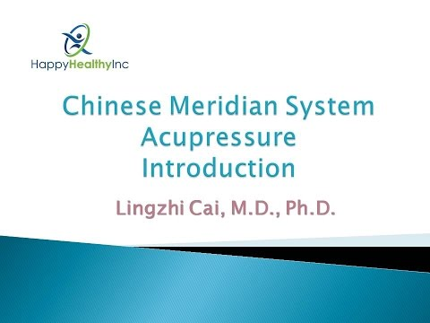 Acupressure - Chinese Meridian Introduction