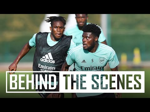 Welcome back, Thomas Partey!  |  Behind the scenes at the Arsenal training center