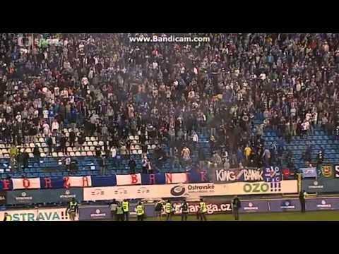 FC Baník Ostrava - AC Sparta Praha Riots 2014 March