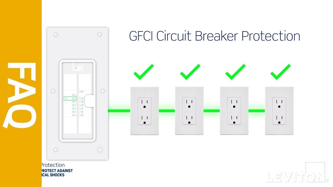 Leviton Answer Series Gfci Circuit Breakers Vs Outlets What S The Difference Youtube