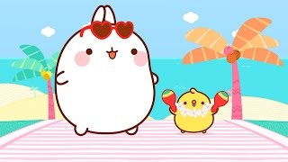Molang and Piu Piu on Vacation | Cartoons for kids