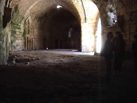 Syria/Jordan 2008: Part 1: Days 1 to 3 Maalolua Damascus Krak des Chevalier Converted