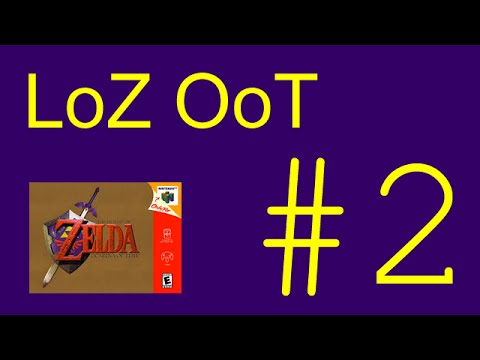 LoZ Ocarina of Time— 2 Silent, Easy Dungeon