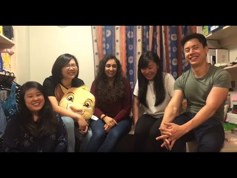 BSc Hons Occupational Therapy students from Singapore at GCU