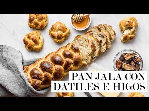 Pan Jala (Challah) con dátiles e higos | Cravings Journal español
