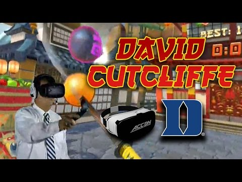 David Cutcliffe Virtual Reality | Experiences VR For First Time