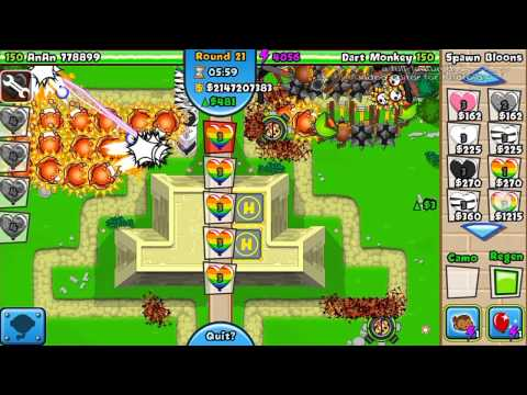 BTD Battles mobile EP 2- hacker vs hacker