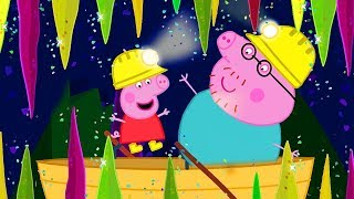 Фото Peppa Pig Official Channel  Peppa Pigand39s Tour In The Caves