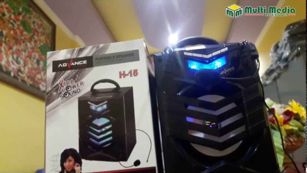Speaker Portable Advance Microphone Youtube T101bt
