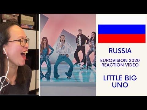 Russia 🇷🇺| Little Big - Uno - Eurovision 2020 Reaction Video