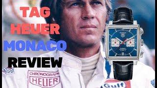 "TAG Heuer ""Monaco"" - Luxury Square Chronograph"