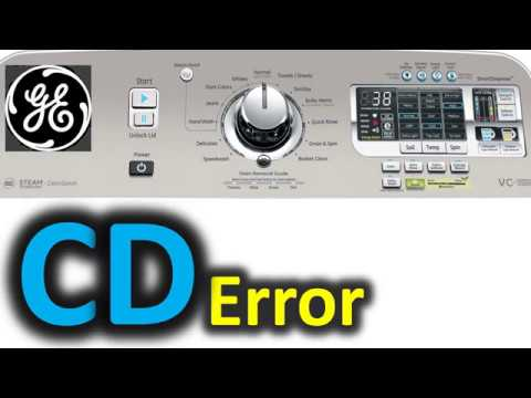 DE Error Code SOLVED!!! GE Top Load Washer Washing Machine